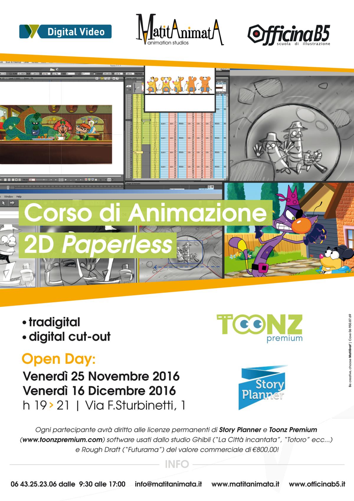 Corso di Animazione 2D paperless